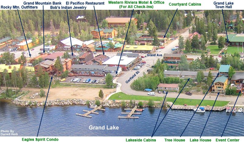 Relax On Beautiful Grand Lake In Colorado Our Hotel And Cabins Are The Only Lakeside