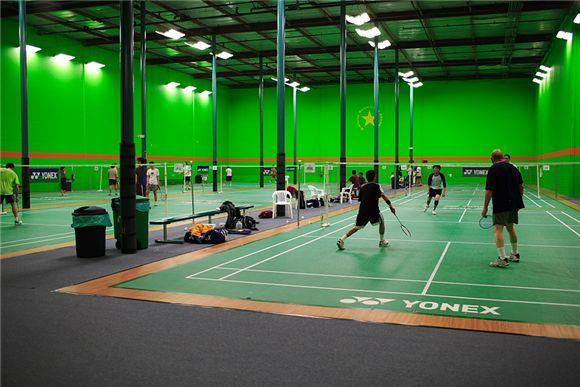 Badminton At Bintang Bay Area
