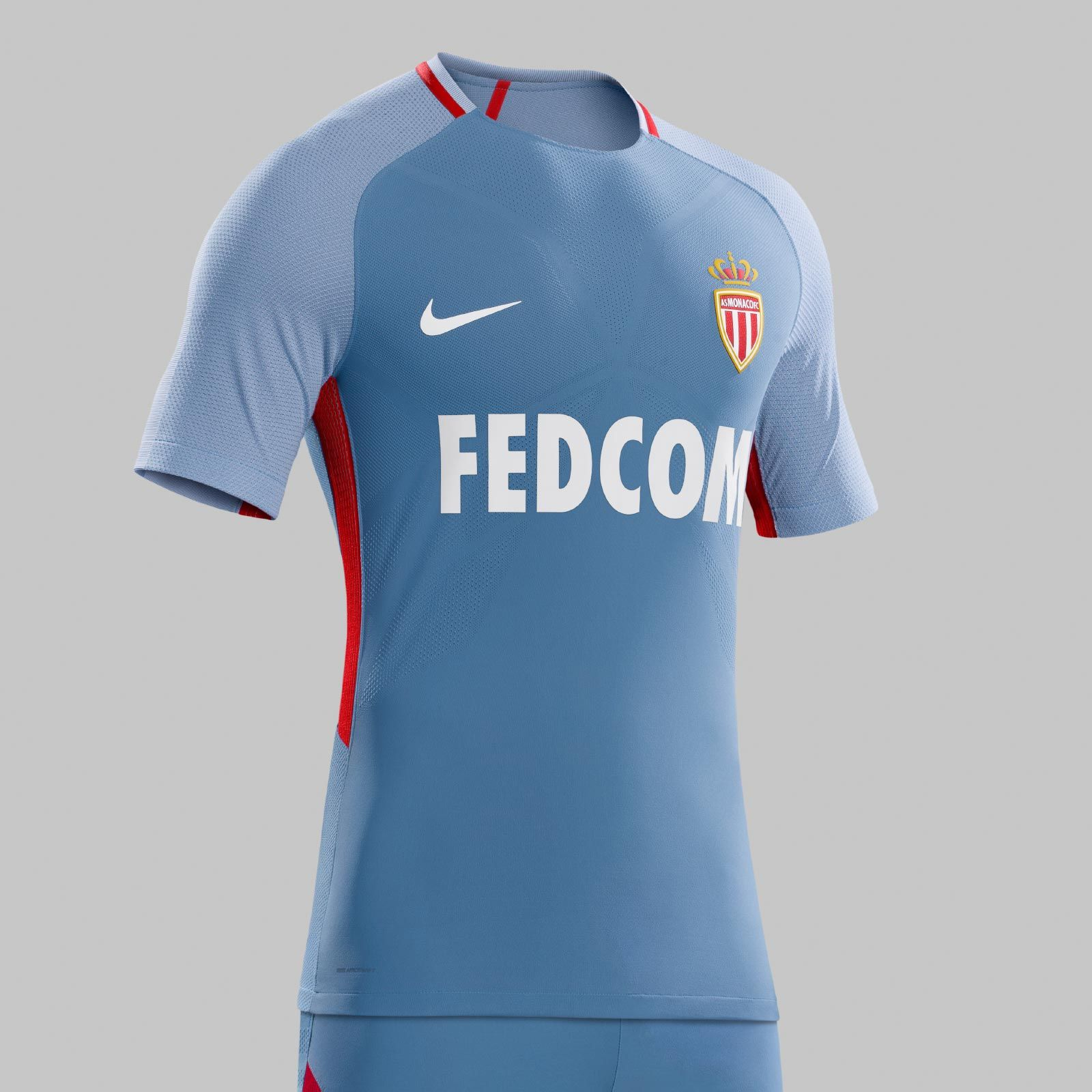 Conheça as novas camisas do AS Monaco 2017-2018 fd725c4f4