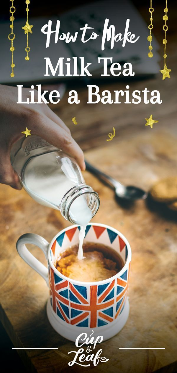 How to Make Milk Tea Like a Barista -