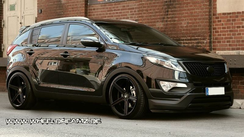 Kia Sportage Wheeldreamz Tuning Car 2