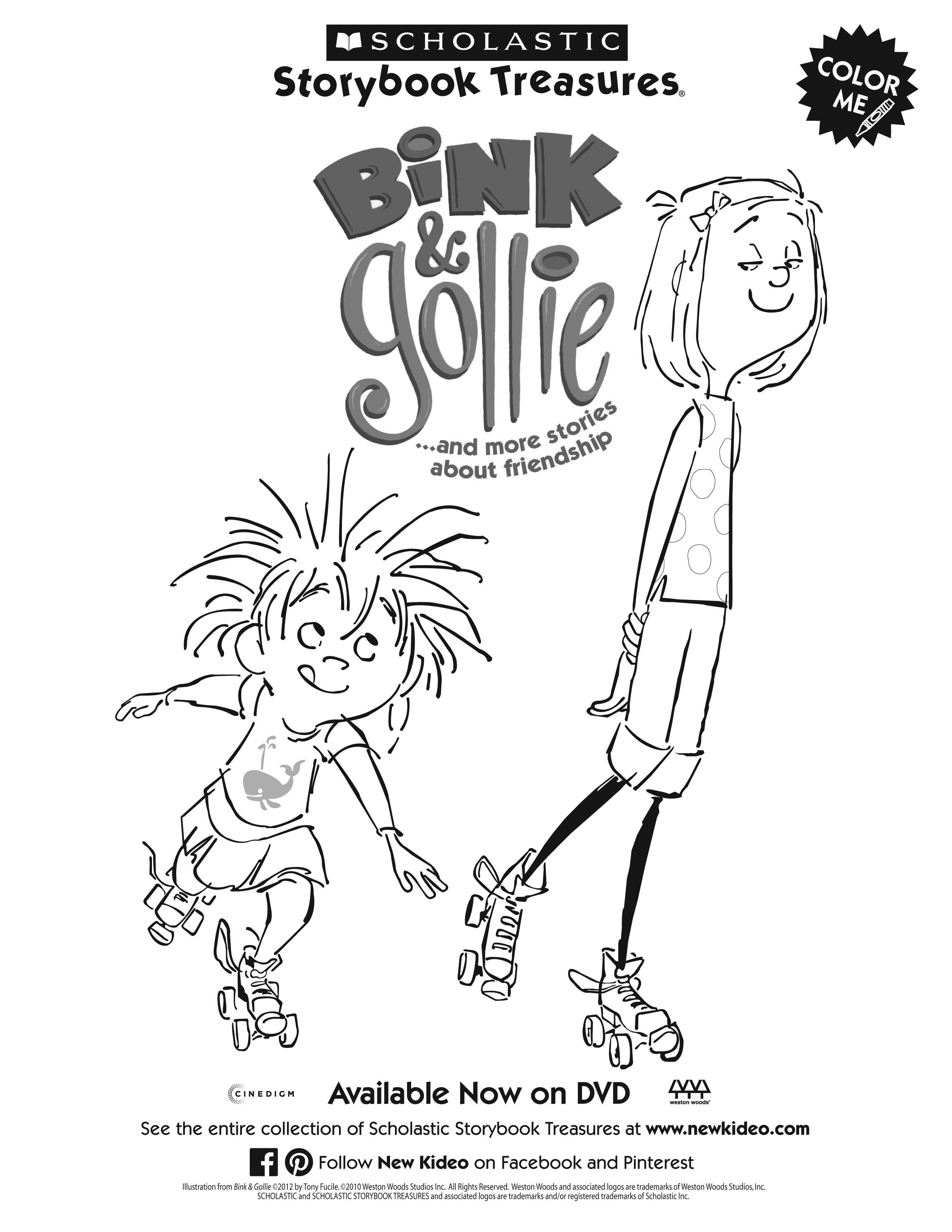 Bink & Gollie by Kate DiCamillo and Alison McGhee