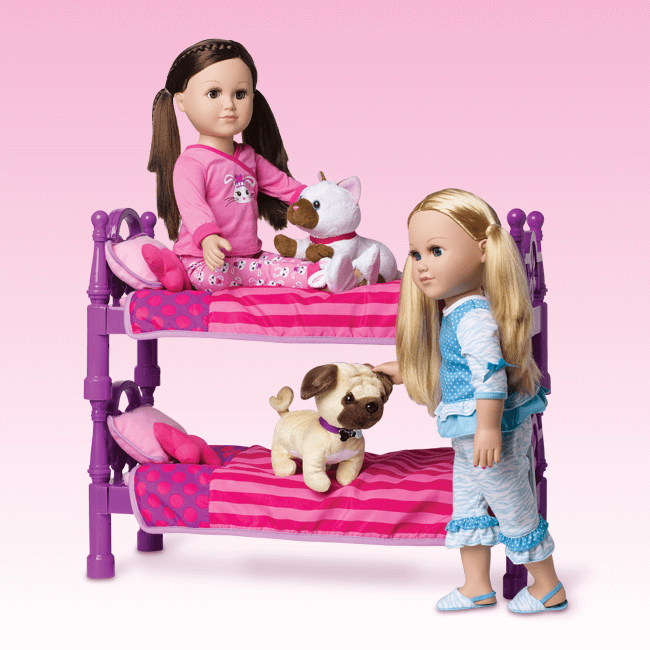 Stackable Doll Bed My Life As...From Walmart for 18