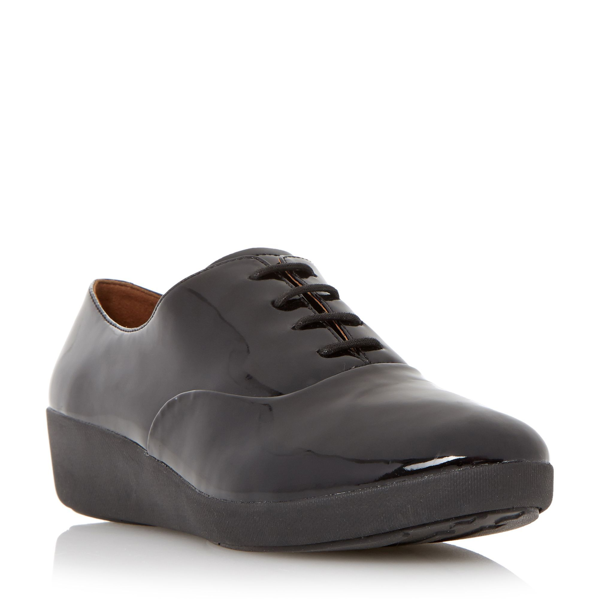 33d7c7aa77961a FitFlop F-pop oxford patent lace up oxford shoes