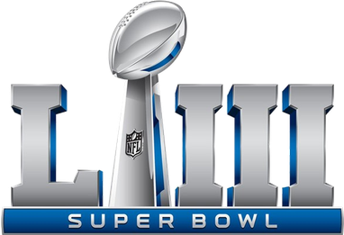 Super Bowl Get Your Game Face On The Super Bowl Means Lots Of Appetizers So Start Discussing What To Make Or Br Superbowl Logo Super Bowl Super Bowl Props