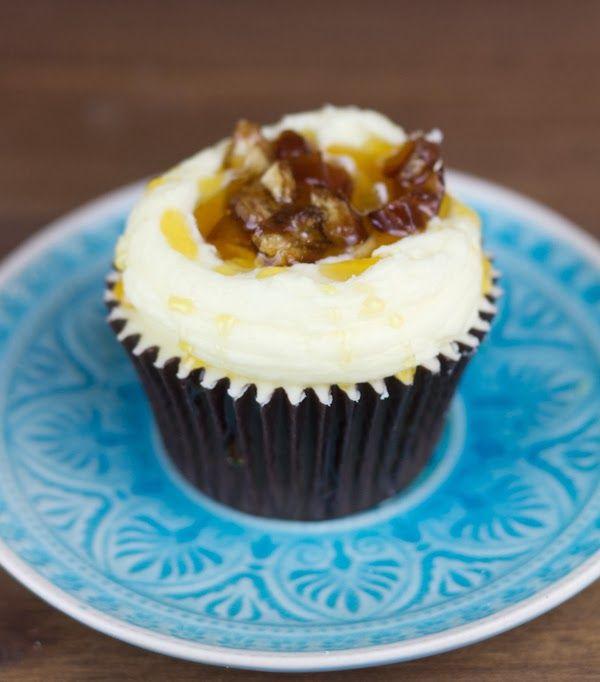 Cupcakes de dátiles y miel