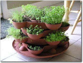 Herb Gardens 30 great Herb Garden Ideas | Balkon-gärten, Gärten ...
