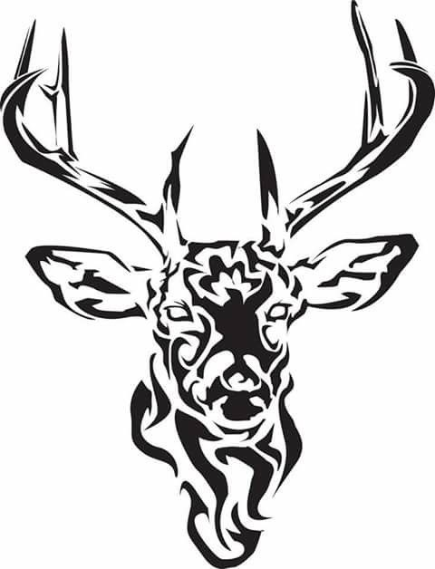 Tribal Stag Tattoo Deer Tattoo Designs Tribal Animals Stag Tattoo