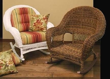 Marvelous All Weather Wicker Rocker #4737