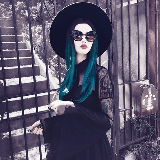 Black Witch Brim Hat Witch Clothing Killstar Witch Fashion Witchy Fashion Witch Outfit