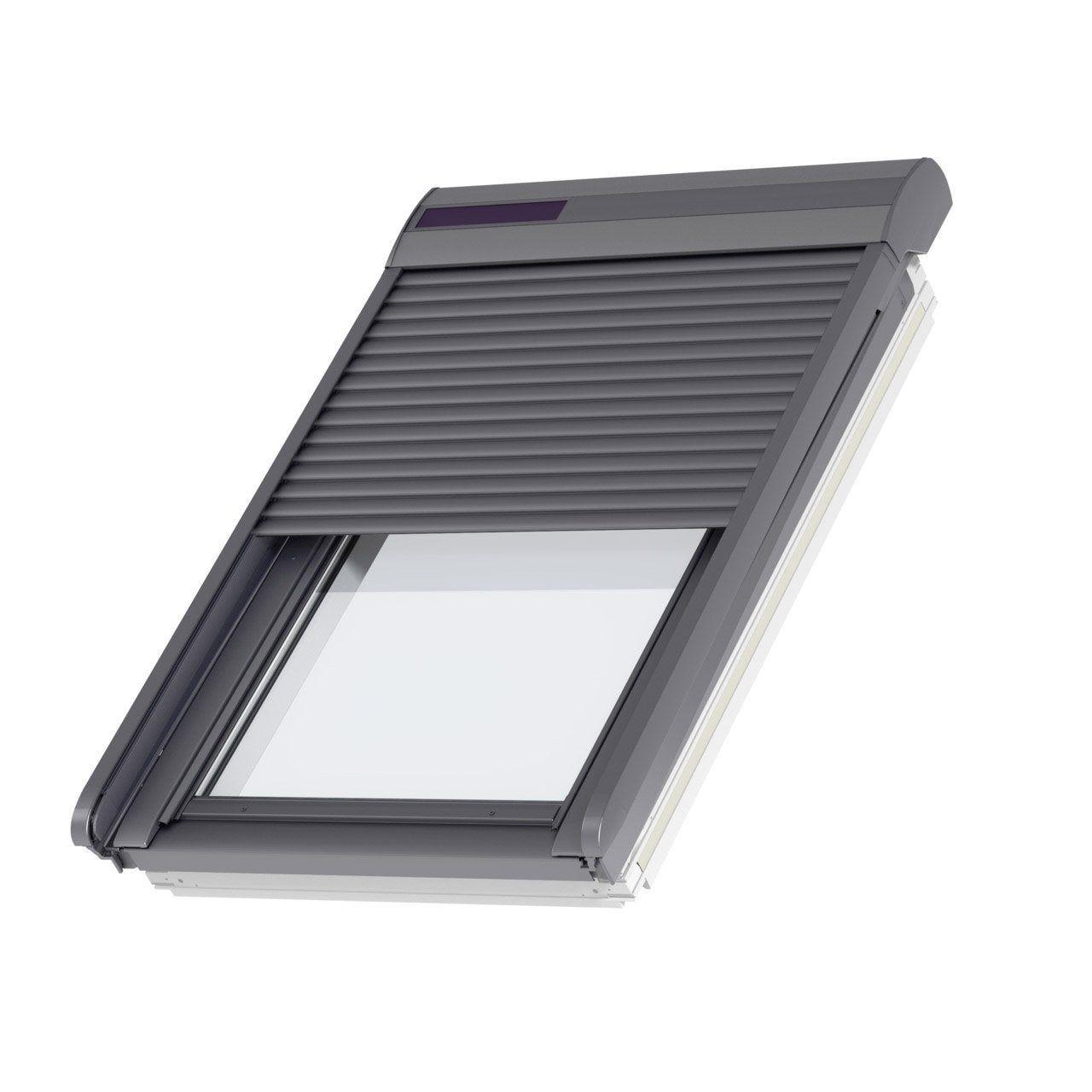 Volet Fenetre De Toit Roulant A Energie Solaire Velux Ssl Sk08