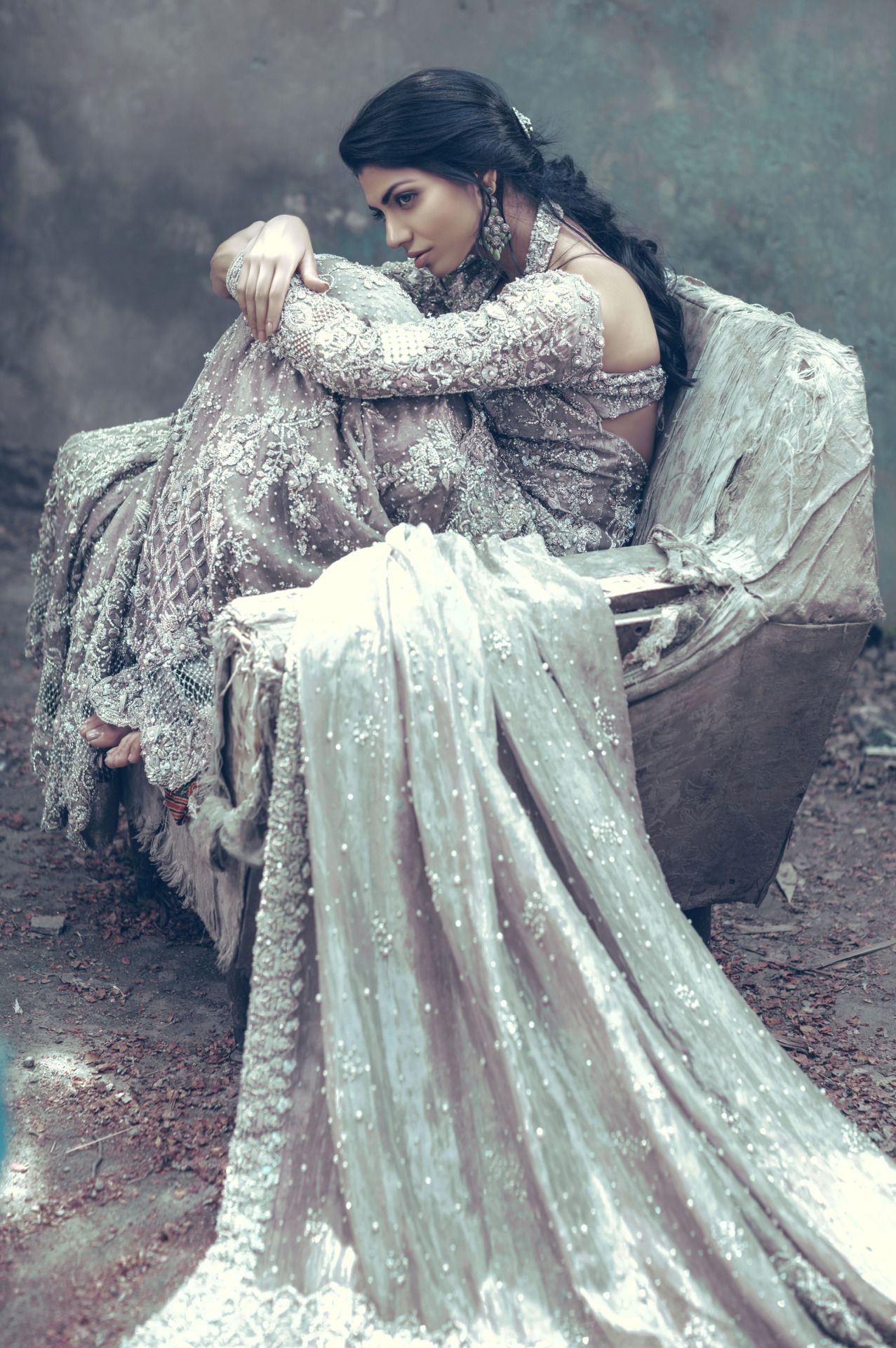 "highfashionpakistan: "" Suffuse by Sana Yasir, Freesia Bridal ..."