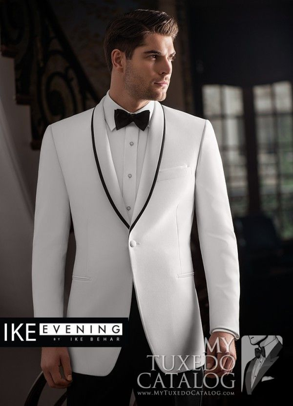 White 'Waverly' Tuxedo from http://www.mytuxedocatalog.com/catalog ...