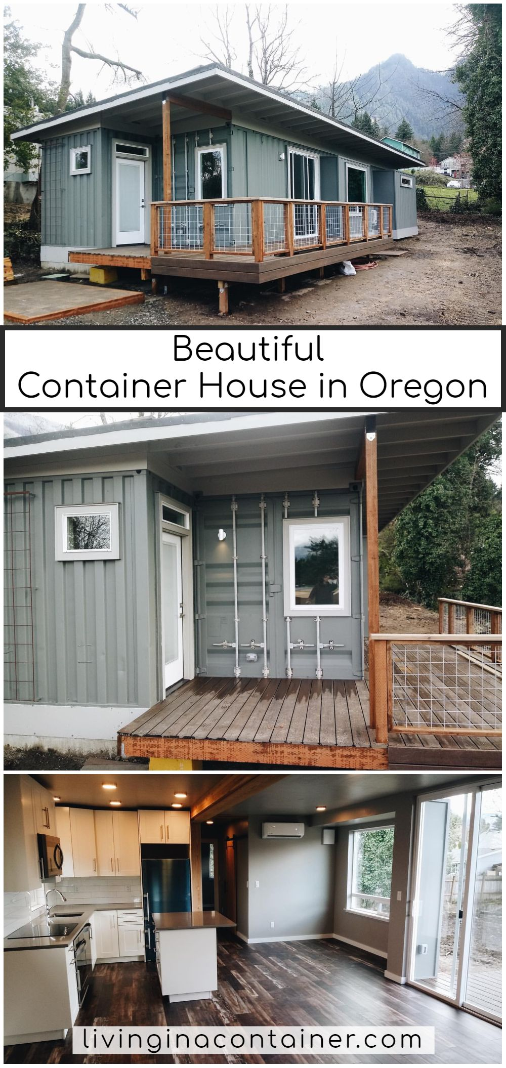 Beautiful Container House in Oregon