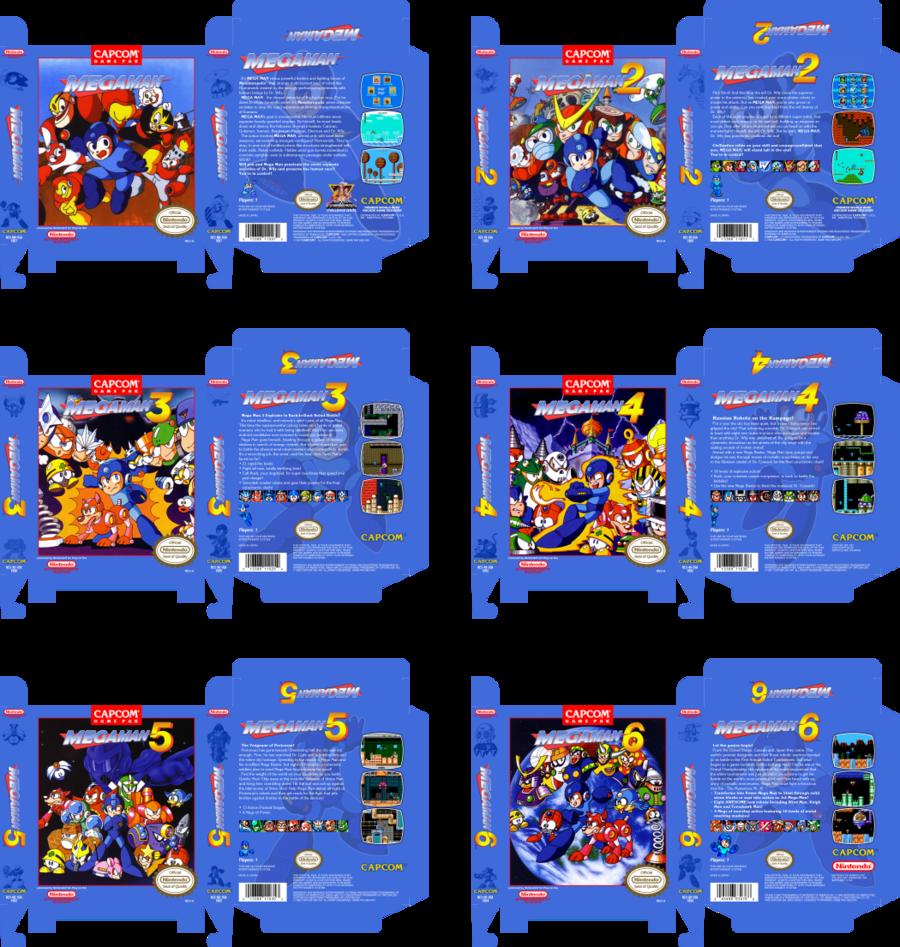 Mega Man Collection by vladictivo on DeviantArt