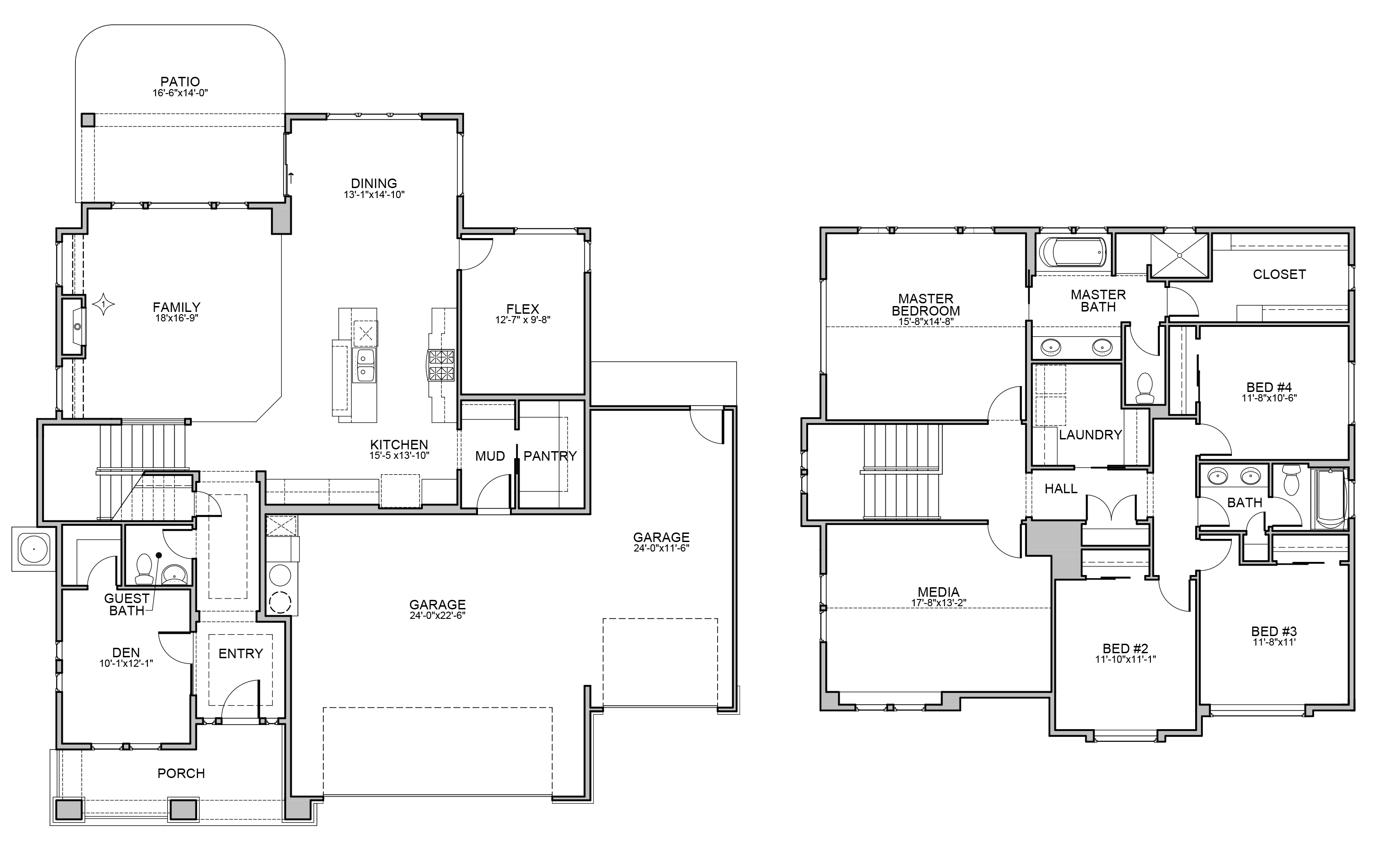 Bandon Floor Plan By Brighton Homes