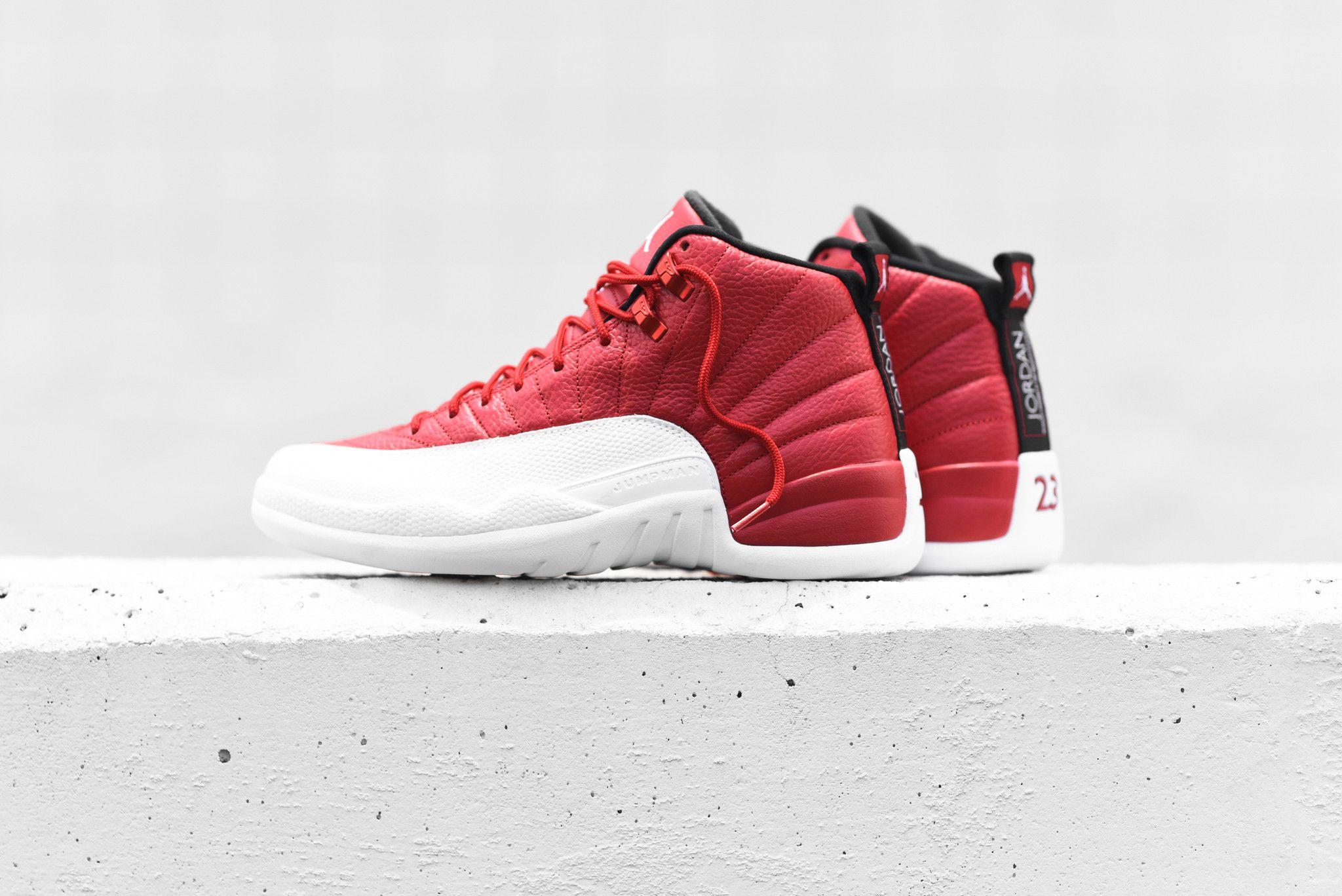 ba6e38150dd5 Get Ready For The Air Jordan 12 Gym Red