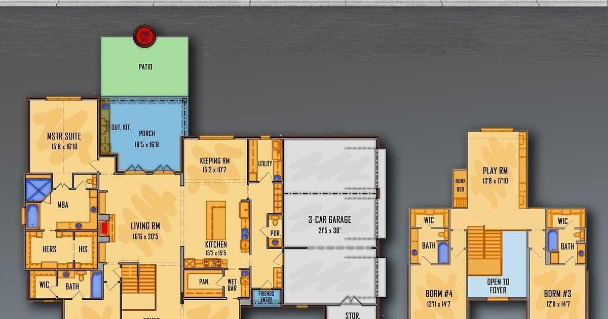 How Do You Design House Plans In 2021 House Design Bath Bar Design Yellow house floor plan