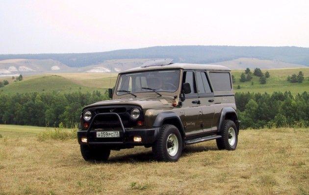 УАЗ-3159 «Барс» — полноприводный автомобиль (4×4)
