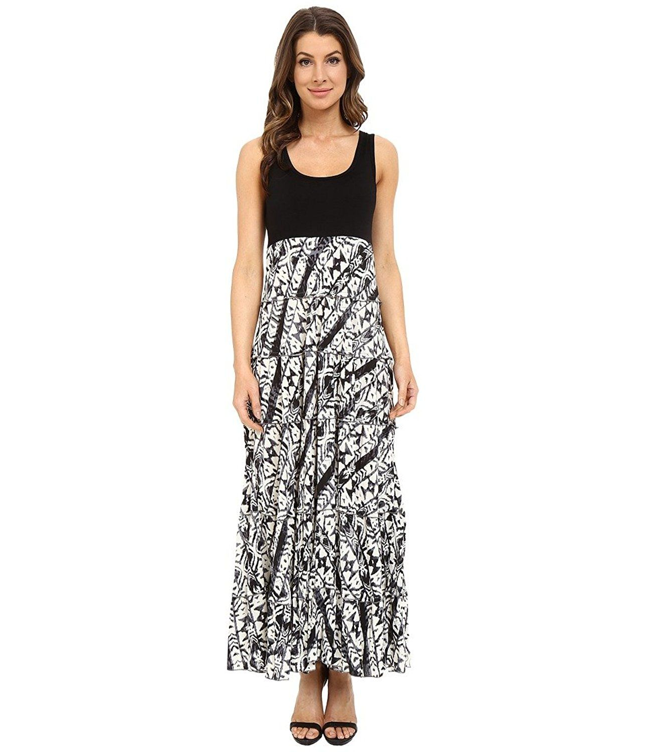 Karen Kane Women S Tribal Awesome Product Click The Image Dresses Tiered Maxi Dress Tribal Print Maxi Dress Top Maxi Dresses [ 1500 x 1286 Pixel ]