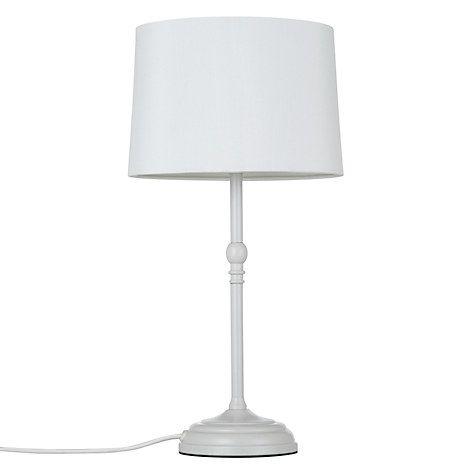 John Lewis Isabel Small Table Lamp, Grey   Table lamp ...