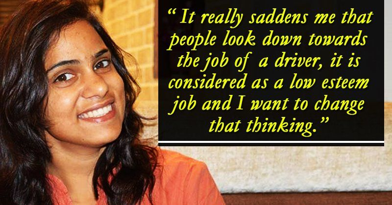 This Girl Is Gujarat's 1st Female Cabbie And Her Inspiring Story Will Urge You To Follow...