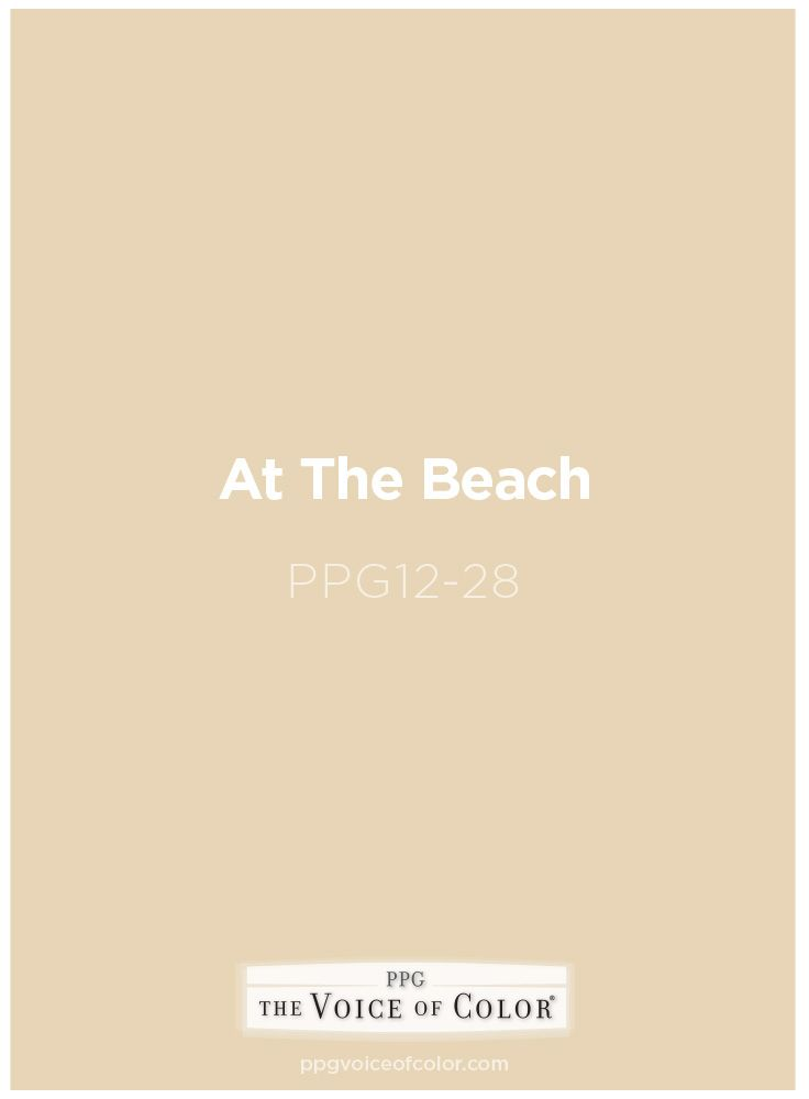 Sandy Paint Color At The Beach Ppg12 28 By Ppg Voice Of Get This Tinted In Pittsburgh Paints Porter Or