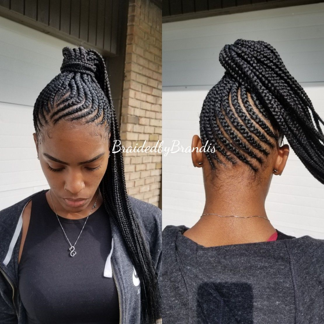 Small Feed In Ponytail Braided Ponytail Black Hair Feed In Braids Ponytail Small Feed In Braids