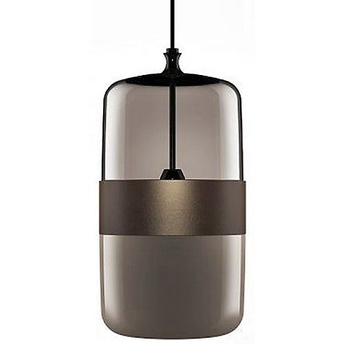 Futura Pendant Smokey Grey Open Box Return By Vistosi At Lumens Com Vistosi Suspension Lamp Lamp