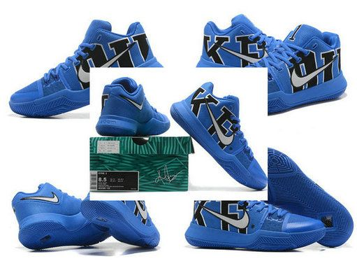9597e349a3c9 Official 2018 NIKE KYRIE 3 III DUKE 922027-001 New Arrival Kyrie Irving  Shoes