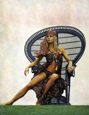 queen of boho chic - Brigitte Bardot by vivian