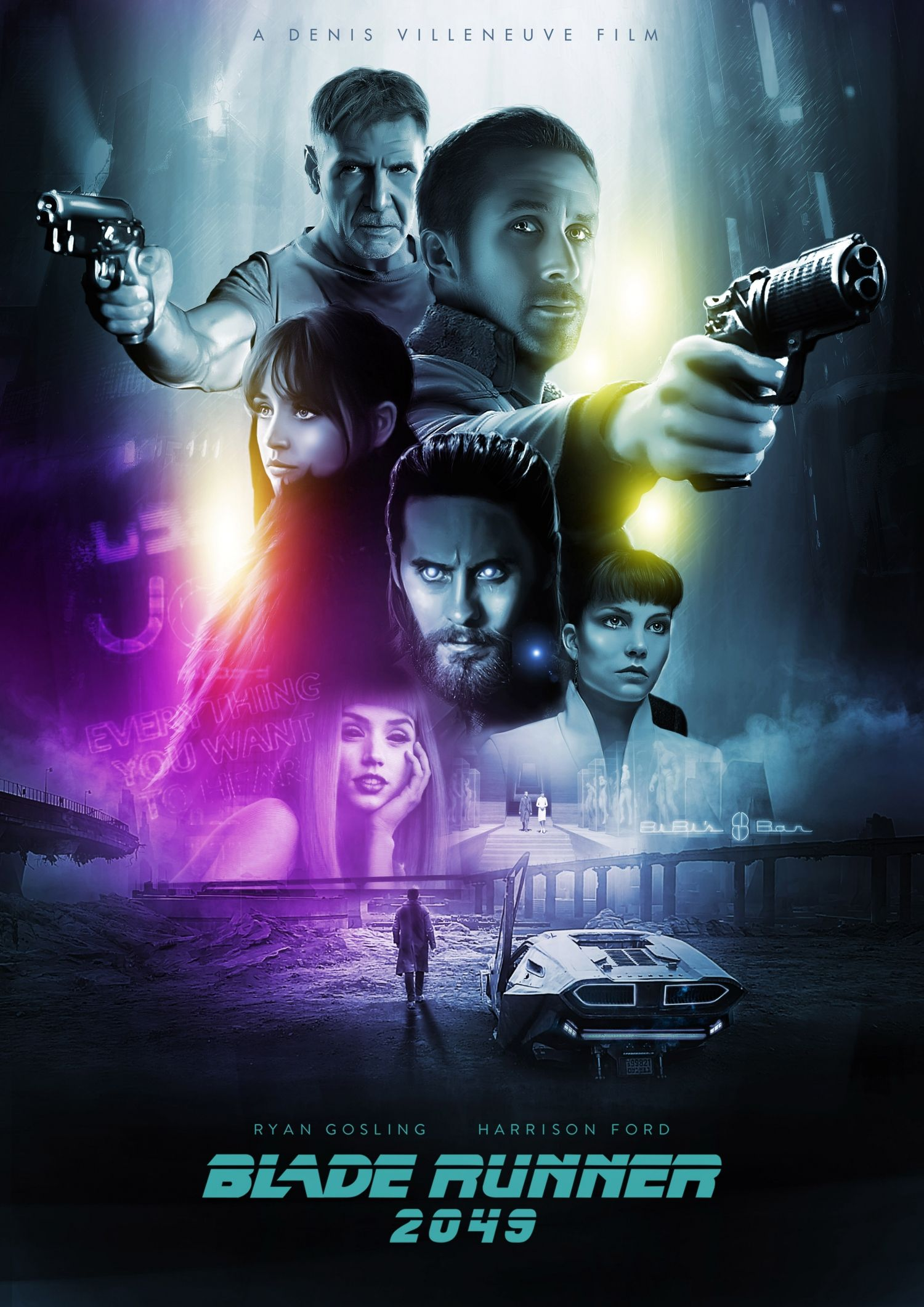 Blade Runner 2049 2017 1500 X 2121 Blade Runner Blade Runner 2049 Alternative Movie Posters