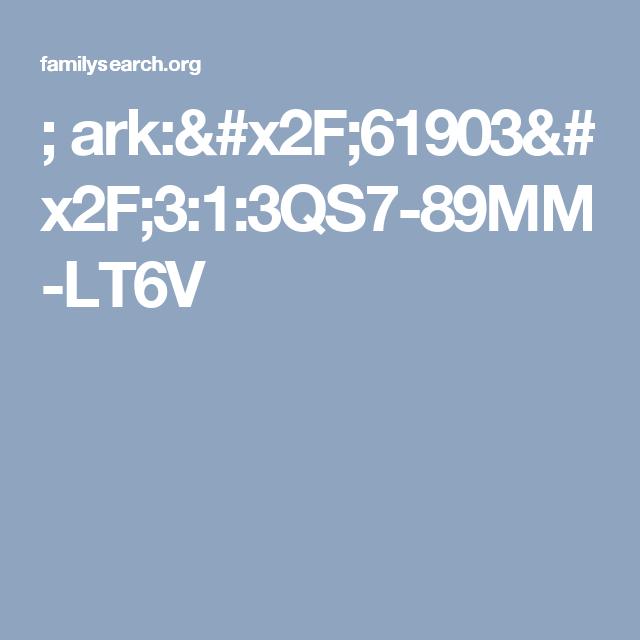 ; ark:/61903/3:1:3QS7-89MM-LT6V