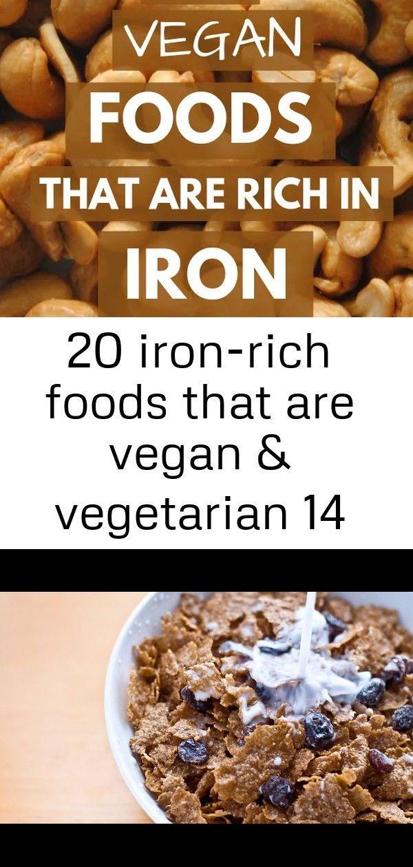 20 ironrich foods that are vegan & vegetarian 14