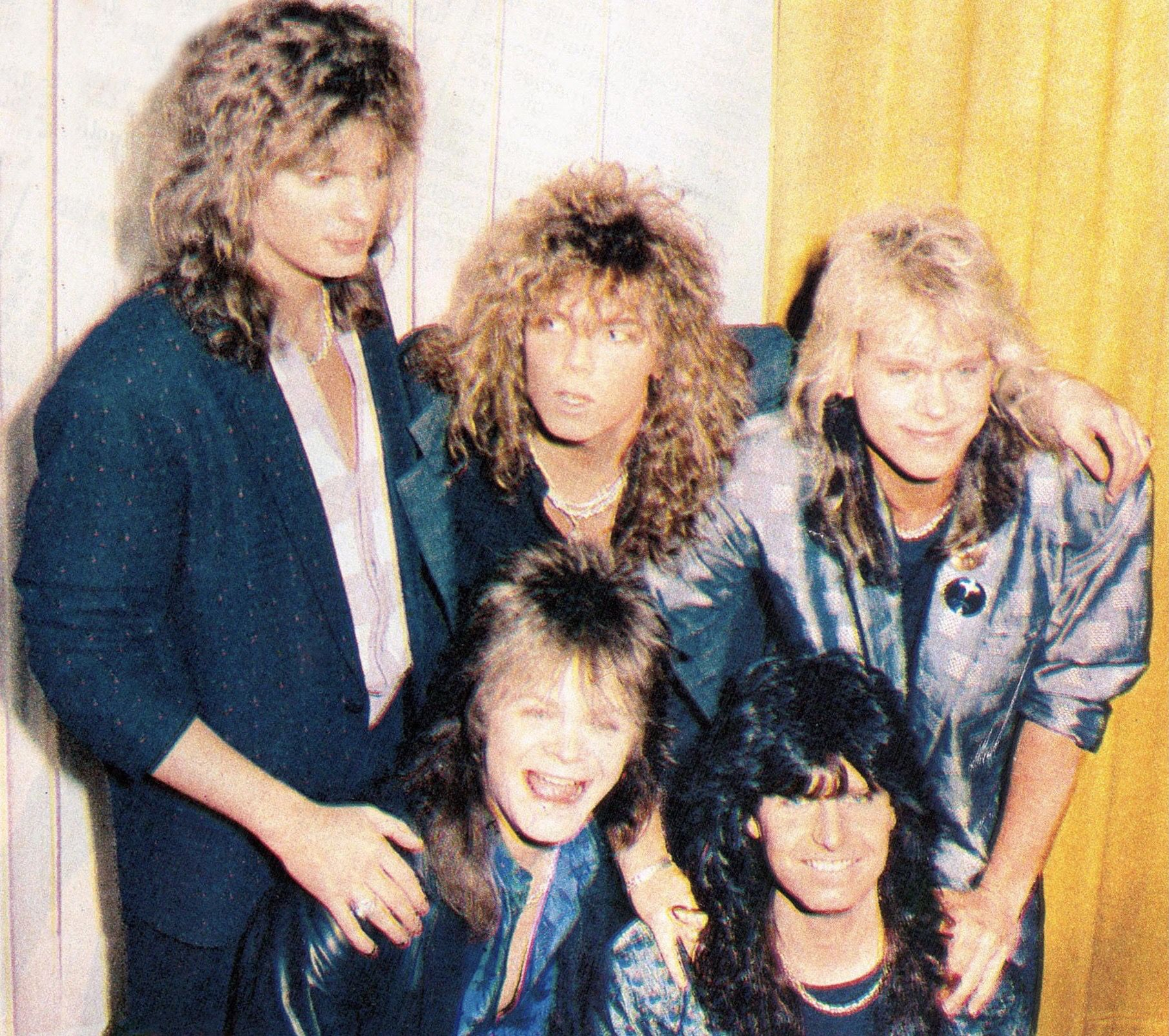Pin By Starrynight On Europe In Magazines Joey Tempest Photo Couple Photos