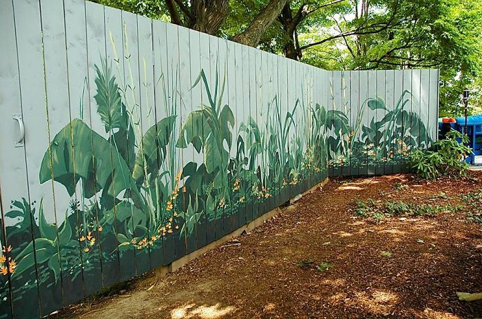 55+ People Who Took Their Backyard Fences To Another Level Garden