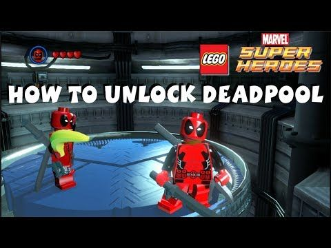 How To Unlock Deadpool Lego Marvel Super Heroes 720p Hd In 2021 Lego Deadpool Lego Marvel Lego Marvel Super Heroes