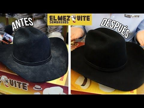 830b412344a4a Felt Hat Cleaning - YouTube