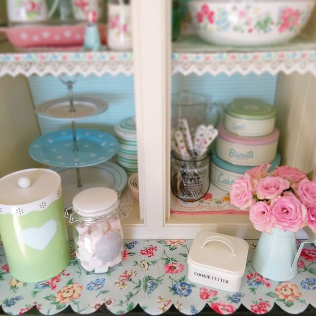 sew a little love: kitchen reveal: pastels and pink   charming and, Hause ideen