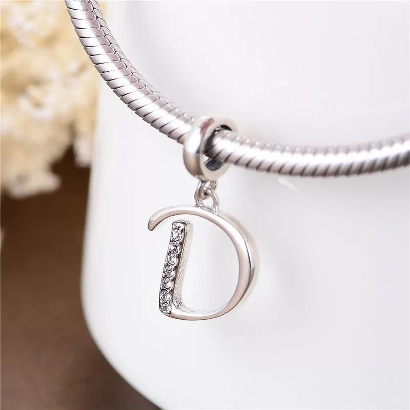 9ad3564fa499e Pandora D alphabet name letter pendant charm | Christmas wishlist ...