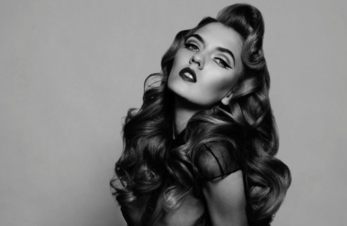 Awe Inspiring 1000 Images About Coiffures Retro Mariage On Pinterest Short Hairstyles Gunalazisus