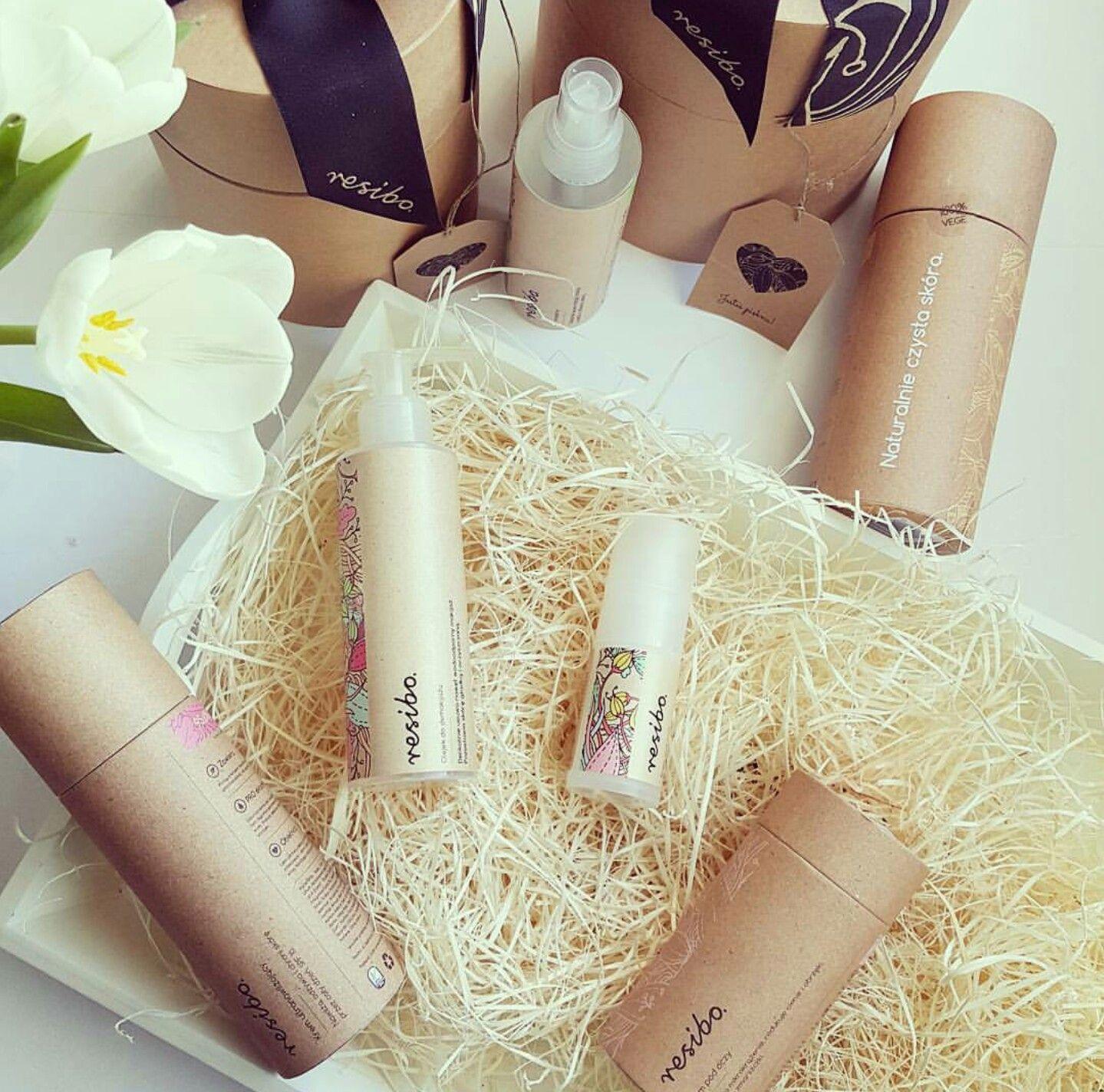 Resibo kosmetyki naturalne do pielęgnacji twarzy (With