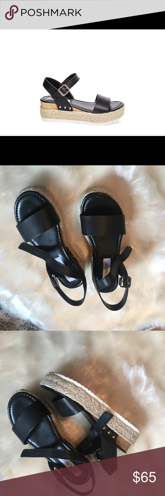 1a7c564fa14 Steve Madden Chiara Sandal New! Worn only one time! Very comfortable ...
