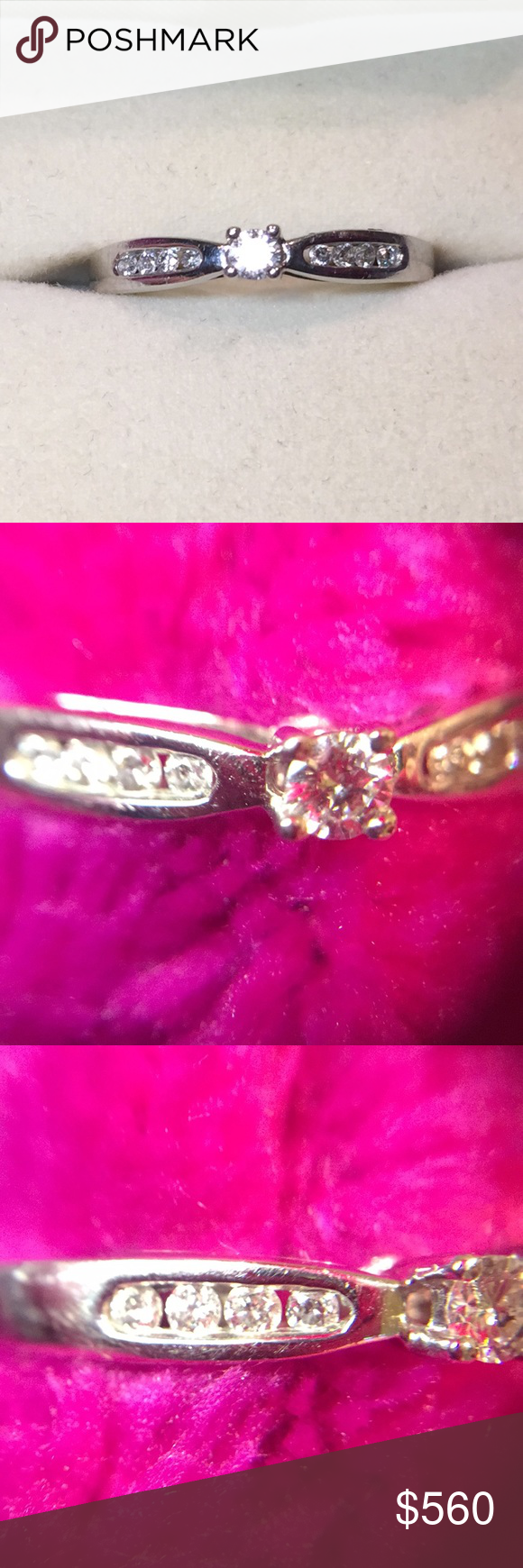 Clearest real diamonds .25 carat white gold ring | Zales jewelry ...