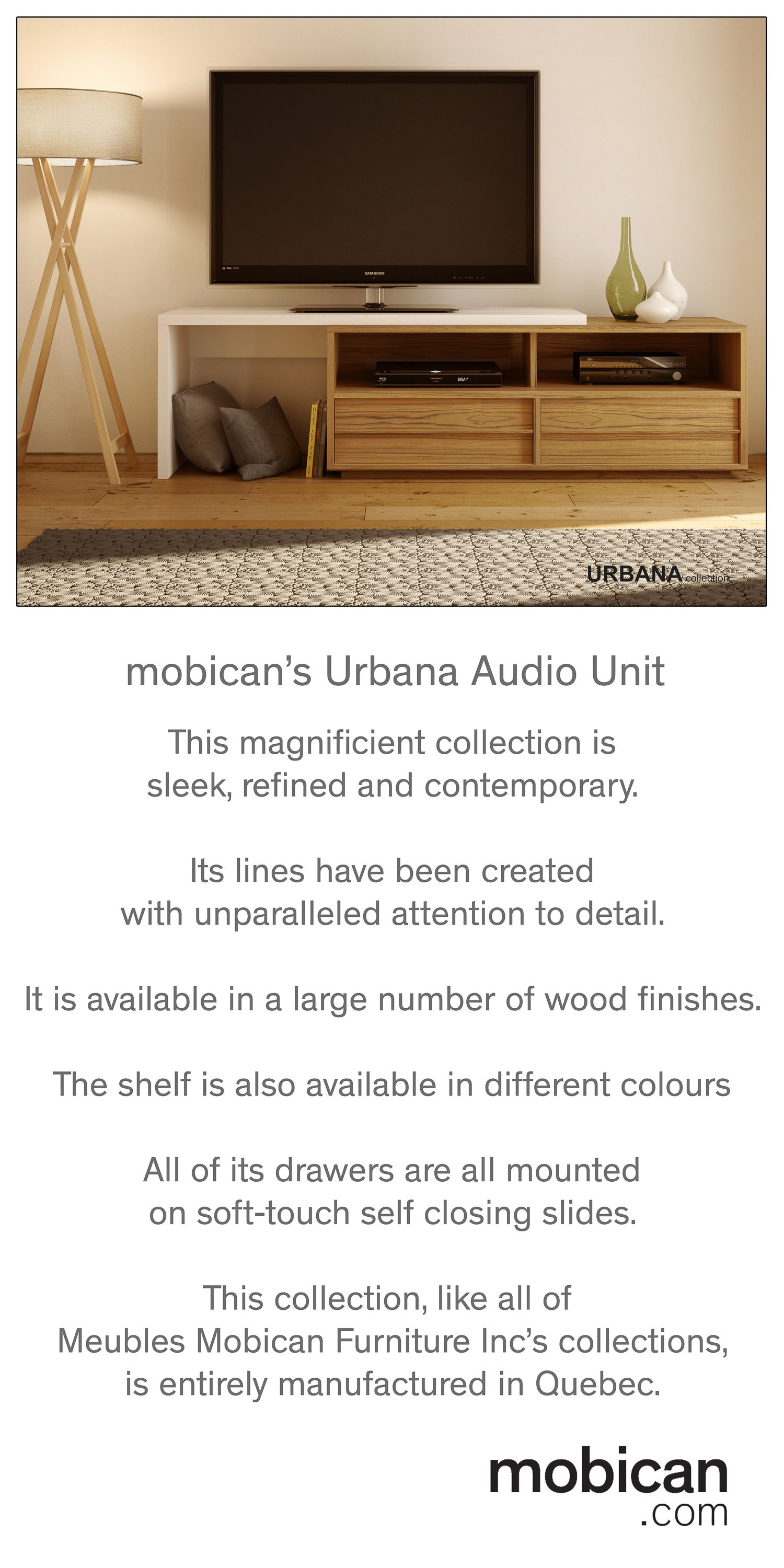 Meubles Mobican Furniture This Gorgeous Audio Unit From Meubles Mobican Furniture Inc