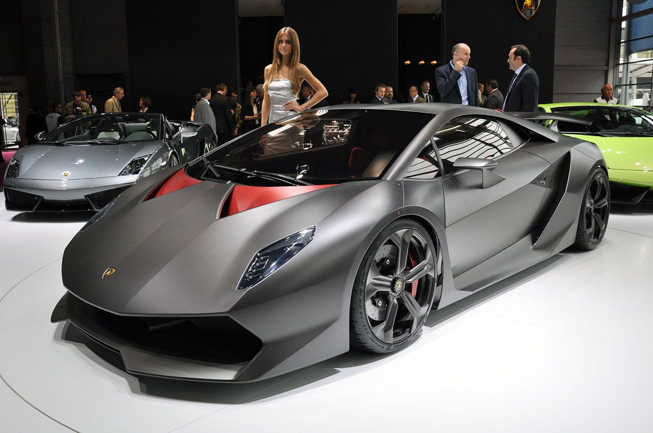 Lamborghini Sesto Elemento (Sixth Element) Only 10 Being Manufactured.