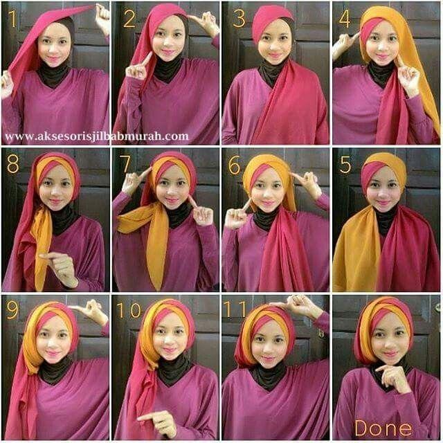 Hijab Paris Tutorial Hijab Pashmina Hijab Gaya Hijab