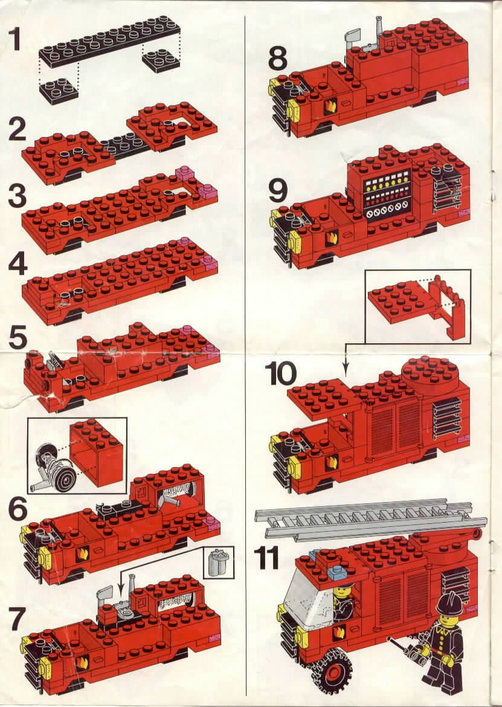 Rescue Fire Station Lego 6382 Creativity Diy Pinterest