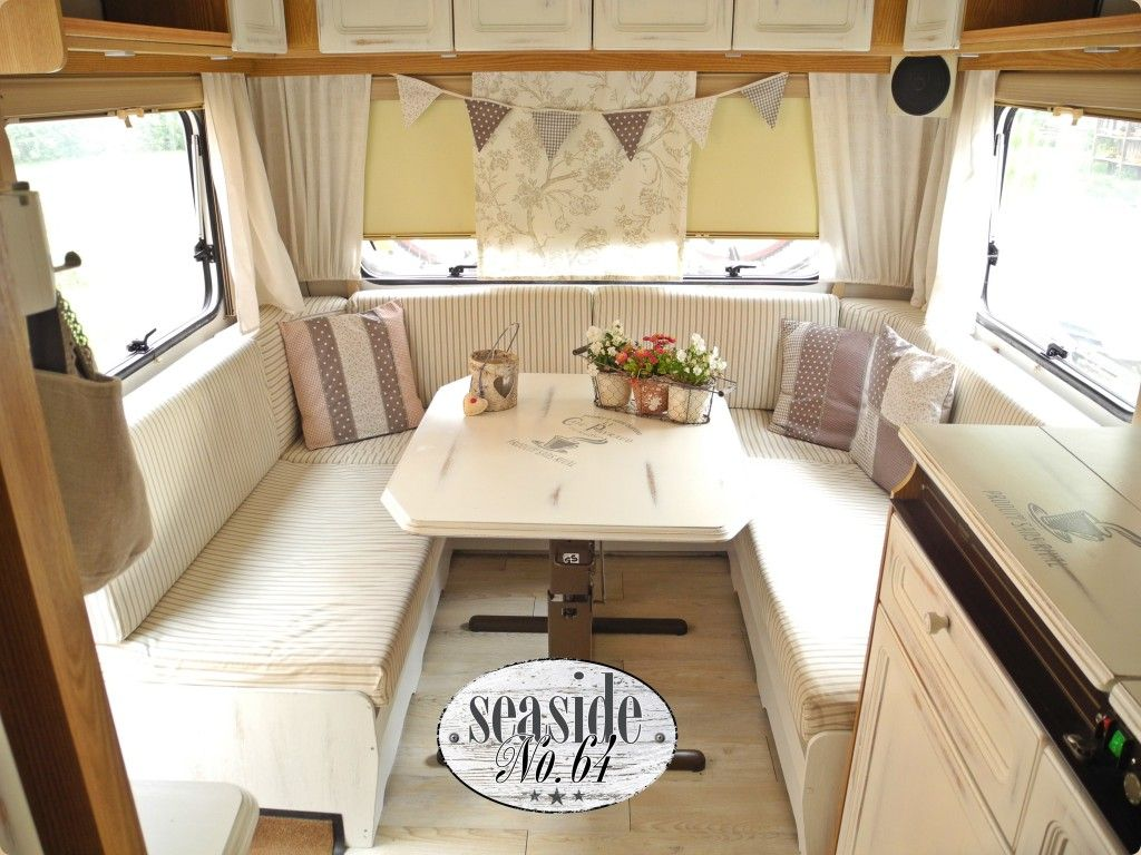 wohnwagen wohnwagen aufpeppen pinterest camping rv and caravan renovation. Black Bedroom Furniture Sets. Home Design Ideas