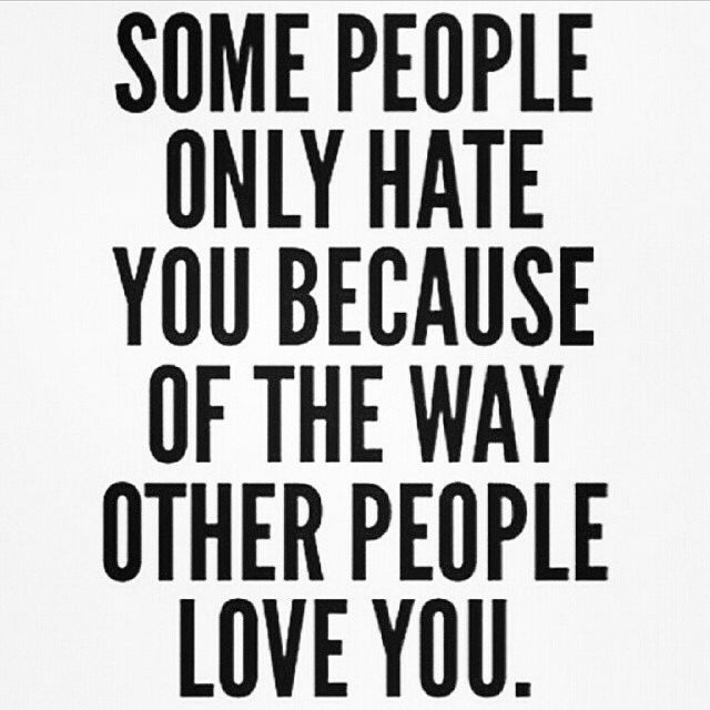 Some People Only Hate You